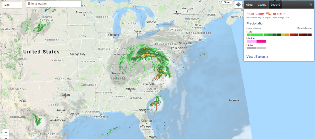 Category 4 Tropical Depression hits Carolina