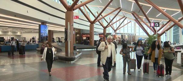 great hall at logan international airport