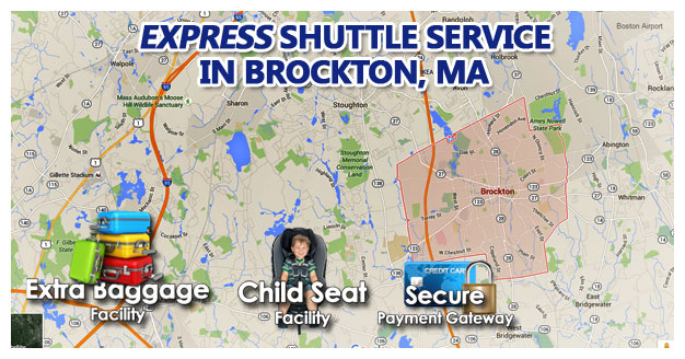 Brockton MA Airport Shuttle Service With Child Seat Facility